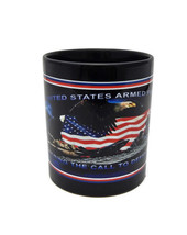 United States Military Armed Forces Mug Blue Army Navy Air Force Marines Eagle - $7.99