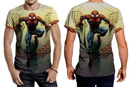 SpiderMan In The Wall Tee Men - $23.99