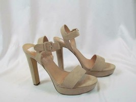 NIB Madden Girl High Heel Strappy Open Toe Blush Sandal Sz 9 M - $56.99