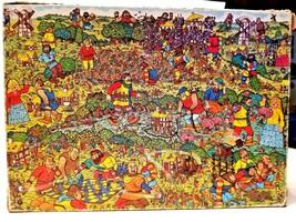 Where's Waldo The Unfriendly Giant 100 pieces pc pcs puzzles 100% Comple... - $23.36