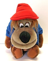 Vintage Disneyland World Brer Bear Plush Stuffed Toy Song of South House Mouse  - $32.99
