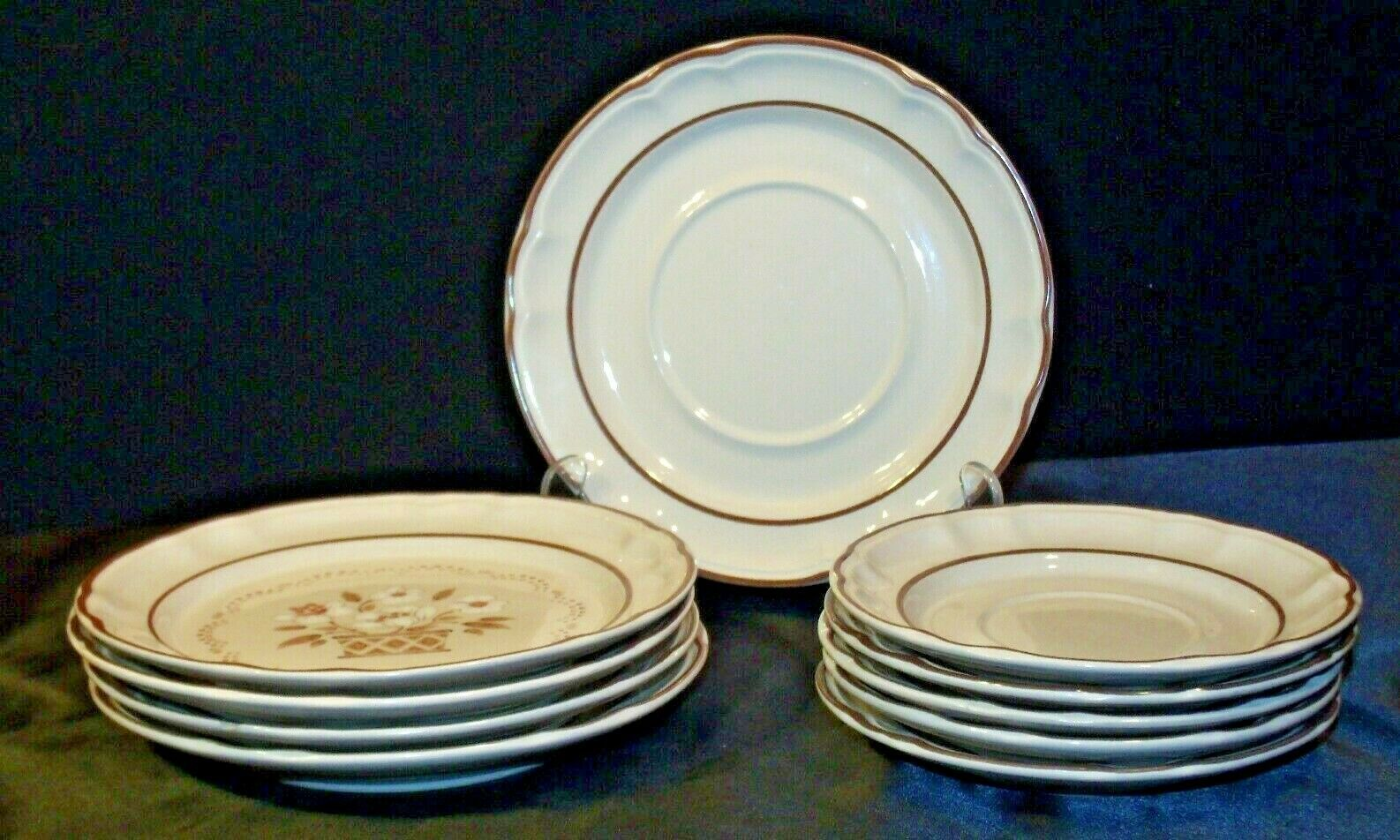 Stoneware Cumberland Mayblossom Dessert Plate by Hearthside AA-192035-A Vintage