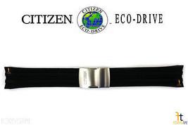 Citizen 59-S53460 CB0021-06E Originale GOMMA Nera Cinturino Orologio - $118.74