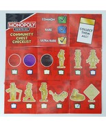 Monopoly Surprise Community Chest Gold Mr. Monopoly Cane Salute Token Ga... - $9.99