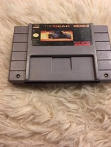 Top Gear  for Super  Nintendo SNES Game   - $8.59