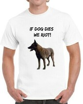 If Dog Dies We Riot Walking Dead T-shirt Daryl Dixons Canine Partner Sup... - $12.84+