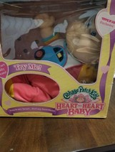 Cabbage Patch Kids Heart to Heart baby new on box 1992 - $75.50