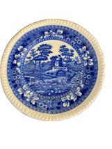 "Copeland Spode Blue Tower 6 1/2"" Plate -  Blue Oval Mark - $6.00"
