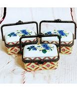 Ceramic Trinket Boxes Set of 3 - $10.00
