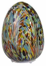 Gnz Easter Décor- 5 Inch Egg Shaped Light in Your Choice of Design (Multi) - £16.72 GBP