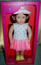 """Our Generation CLEMENTINE 18"""" Red Hair Blue Eyes Doll New - $45.42"""