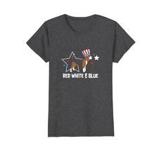 4th of July Shirt Beagle Red White  Blue Gift - $19.99+