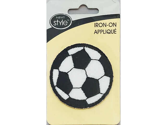 Wrights Iron-On Applique, Soccer Ball, #193343000