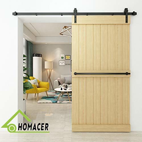 Homacer Sliding Barn Door Hardware Standard Single Door