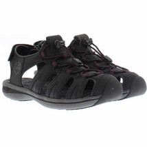 NEW Khombu Black or Gray Walking Hiking Ladies Ashley Active Summer Sandals