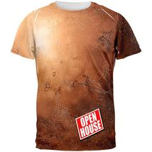 Mars Open House Funny All Over Mens T Shirt - $26.95+
