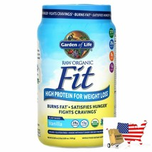 Garden of Life, RAW Organic Fit, High Protein for Weight Loss, Vanilla, 32.80 oz - $67.29