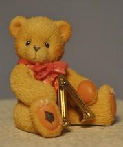 Cherished Teddies - Lambda - Beta Is For Bears Greek Alphabet 24kt. Gold... - $11.18