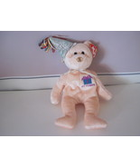 Ty Beanie Baby Birthday October Celebration Bear - $5.99