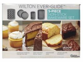 NEW Wilton Ever-Glide 5-Piece Non-Stick Bakeware Set - $29.88
