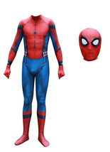 Adult Homecoming Spiderman Cosplay Suit Spandex Full Bodysuit Halloween ... - $49.99