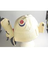 Peanuts Snoopy bucket Hat Cap original red Baron Button pin badge - $74.99