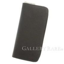 LOUIS VUITTON Zippy Long Wallet Vertical Epi Leather Noir M60965 Men's A... - $1,016.50
