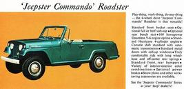 1967 Jeep Commando Roadster - Promotional Advertising Poster - $9.99+