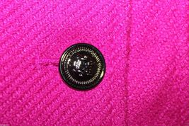 Gap Kids NWT Girl's XXL 13 Pink Boucle' Wool Blend Pea Coat Jacket image 4
