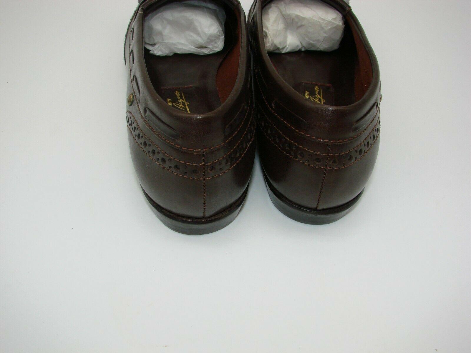 EUC Etienne Aigner Women's Tassel Slip On Pinch Loafers Dress 8 1/2M Brown image 7