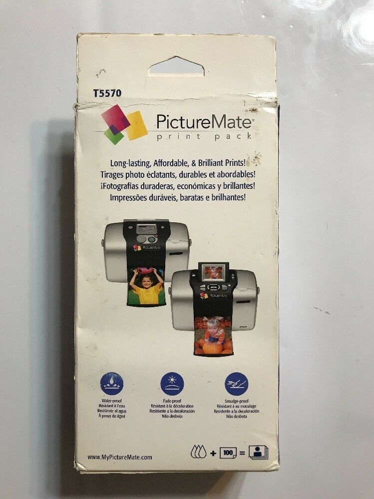 Epson PictureMate T5570 Print Pack EXP 07 and 50 similar items