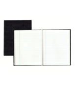 """NEW Blueline Executive Journal 150 Sheet College Ruled 9.25"""" x 7.25"""" Black  - $13.20"""