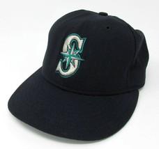 New Era 59Fifty MLB Seattle Mariners Baseball Wool Cap Adult Size 6 3/4 ... - €10,46 EUR