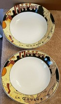 2 Sango Cabaret Soup Cereal Bowls #4870 - $14.85