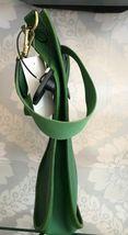 """HERMES Green Classic """"EVELYNE GM"""" Leather Tote/Shoulder Bag $$$$ image 3"""
