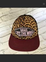 Vans Off The Wall Trucker Snapback Cap Hat Foam 90's Skater Skate Board ... - $23.35