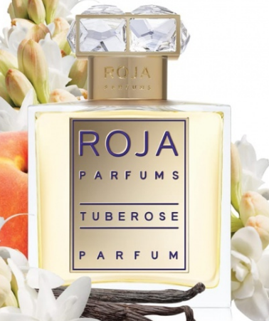 TUBEROSE by ROJA DOVE 5ml Travel Spray Cistus Plum Petitgrain Tubereuse Perfume