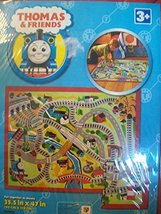 G.A. Gertmenian & Sons Thomas Train Puzzle Multi-Colored Kids Rug - $34.60