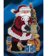 Merry Christmas Santa Celebration Santa Ornament Kit 2014 cross stitch M... - $6.30