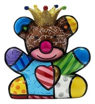 Romero Britto 10th Anniversary Special Edition Happy Bear Design Figurine