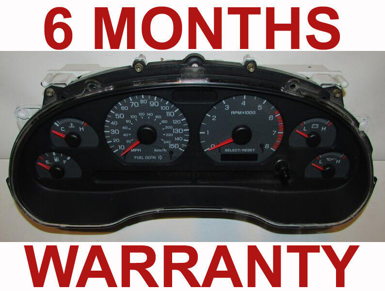 Primary image for 1999-2001 Ford Mustang GT 150 Instrument Cluster - 6 Month Warranty