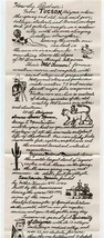 A Tall Letter from Tucson Arizona The Old Pueblo & Envelope by Dick Parrish - $17.82