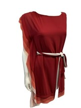 Vince Camuto Fiery Shift Dress One Shoulder Cocktail Party NEW MSRP $128... - $79.17