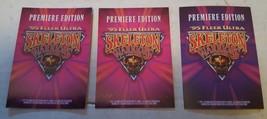 1995 Fleer Ultra Skeleton Warriors Promos lot of 3: 1- Dagger & 2- Baron Dark image 2