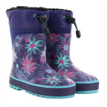 Western Chief Kids' Neoprene Boot, Purple NEW Without Box image 1