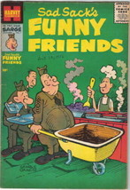 Sad Sack's Funny Friends Comic Book #7 Harvey Comics 1956 FINE+ - $22.17