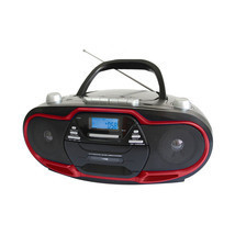 Supersonic Portable MP3/CD Player with USB/AUX Inputs, Cassette Recorder... - $74.91