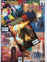 Generation M Marvel COMPLETE Comic Book Limited Series 1-5 By Paul Jenki... - $5.93