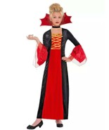 Gothic Princess Child Halloween Costume Girls  Size M 8-10 New B44 - $21.77