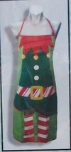 "ELF COSTUME Apron - 26"" x 30"" - One Size Fits Most - New in Package - $14.95"